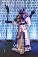 Lord of change on stage at EGX 2015 by Elfsire