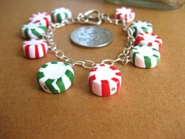 Mint Charm Bracelet IV by sunnyxshine