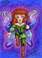 Butterfly Rysta Card by dragondoodle