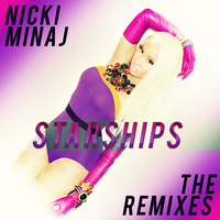 Nicki Minaj - Starships (The Remixes) CD Cover by GaGanthony