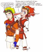 Annoying facts of Daxter by Silverspegel