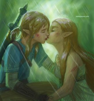 the kiss by oneKATIE