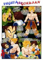 Vegeta the Goku-fan by nekoni
