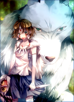 LP - Princess Mononoke by Yoshino78