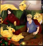 FFVII - Christmas, a time for sharin' by WhistlingWolf13