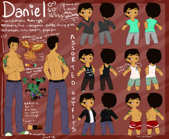 Daniel Reference sheet UPDATE by coffaefox