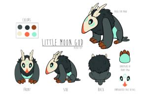 Little Moon God Plush Design by Flying-Fox