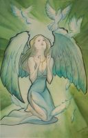 angel of peace by Celeste23forever