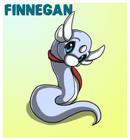 The Red Barn: Finnegan the Dratini Ref by Cattensu