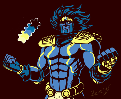 Star Platinum by K1S3K