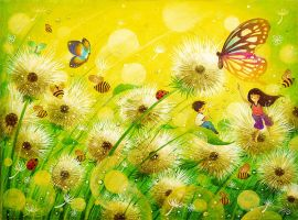 The Dandelion Dream by frecklefaced29