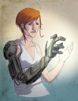 Right Arm: Robot by kevinmellon