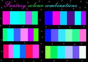 Fantasy colour combinations by Melevy