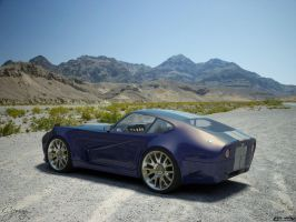Ford Cobra concept 2 by cipriany
