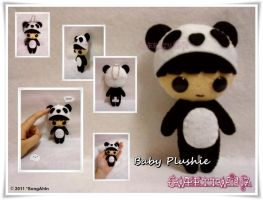 Baby Boy Panda Plushie... by SongAhIn