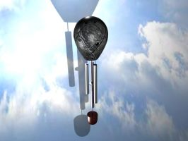 Steel Balloon Windchime by SinSeaward