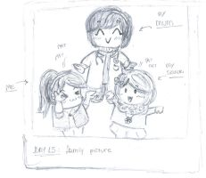 Day 15- Family picture by 99scribbles