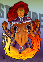 Starfire by DeanGrayson