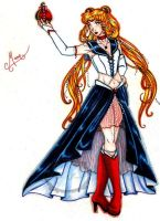 FA + Sailor Soldiermoon by RubyRiddleDesign