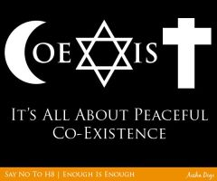 Coexist by a2designs