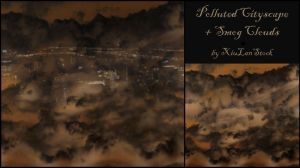 Polluted Cityscape - Smog Clouds - Premades by XiuLanStock