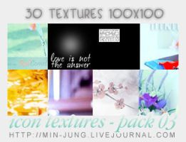 Icons-Textures -03- by Min-Jung