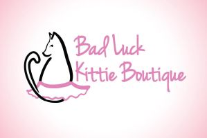 Bad Luck Kittie Boutique Logo by Strange-1