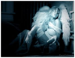 sherry and the angel wings by scottchurch