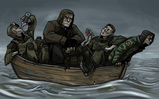 Don't sink the boat by mrozna