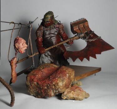 Executioner Sculpture by artanis-one