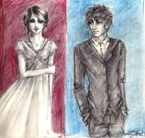 Tess and Will by cherryclaires