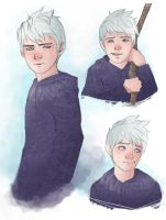 Jack Frost doodles by RattledMachine