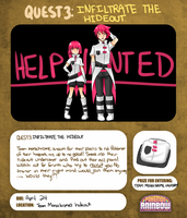 QUEST 3: INFILTRATE THE HIDEOUT by Shioiri