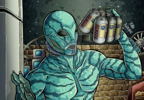 ABE SAPIEN by XimeniSHA