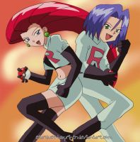 Team Rocket Again by Stardust-Phantom