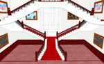 MMD Fancy Stairs by amiamy111