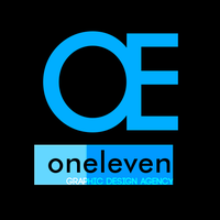 Oneleven design agency logo by bioxyde