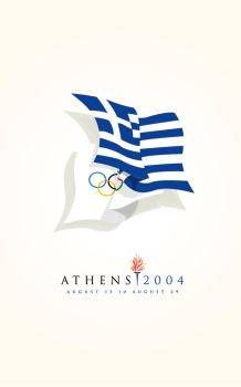 2004 Olympic Poster by TheRyanFord