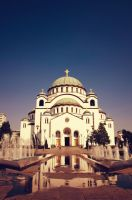 Temple of Saint Sava by rayxearl