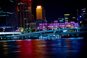 Brisbane city by Beer-Bottle-Photo