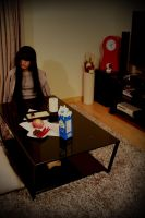 S-Sunako's in the living room..!!! by Aiashi-Touya