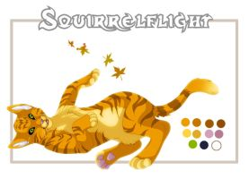 Squirrelflight Ref by khunumi