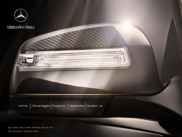 Mercedes site interface by 5835178