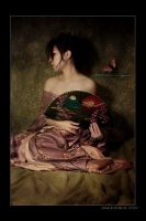 Geisha Fan I by kedralynn
