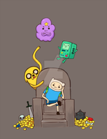 Adventure Time and again by CJsux