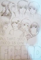 All That You Need... by Shientah