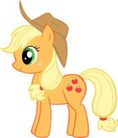 Applejack - Vector by SkunkDJ