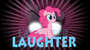 Laughter pinkipie wallpaper by rhubarb-leaf