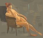 Figure Painting by KGMomo