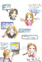 strip - Charlie Eppes and me by Na-kun